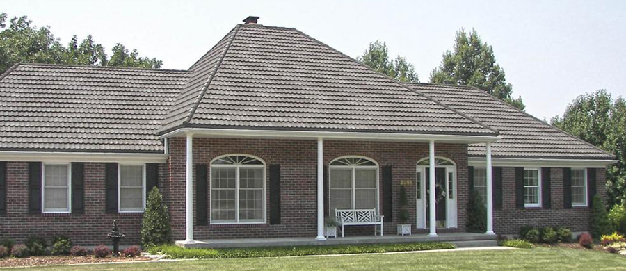 Gerard stone coated metal roof