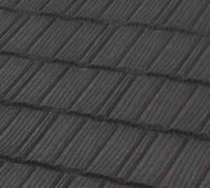 Charcoal tile-Boral steel roofing