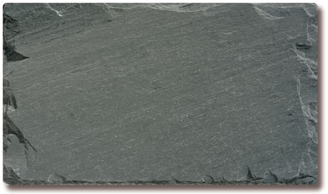 Semi-Wathering Gray-Green Slate Roof Tile