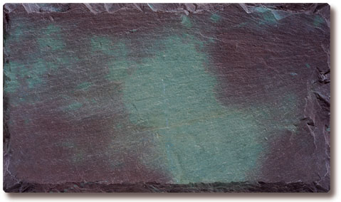 Variegated Purple Slate Roof Tile