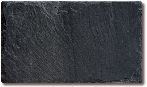 Canadian Black Slate Roof Tile