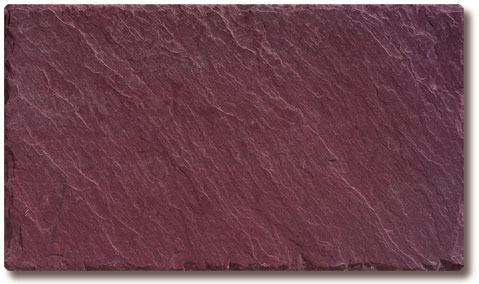 Royal Purple Slate Roof Tile