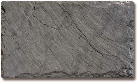 Unfading Gray Slate Roof Tile