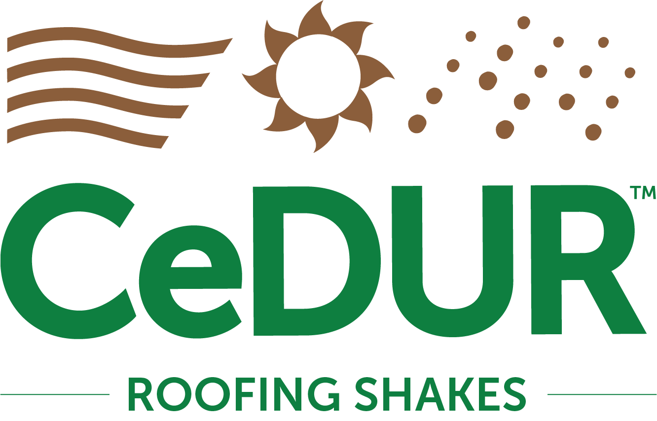 CeDUR Synthetic Rooofing Shakes Logo